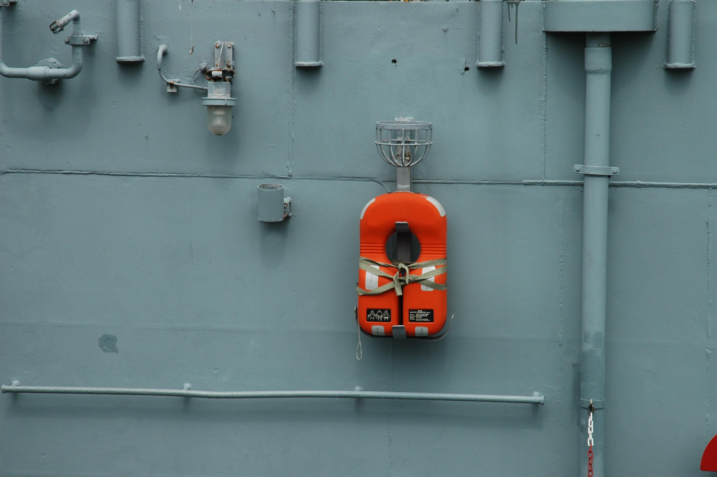 Rettungsweste, Marinemuseum Wilhelmshaven